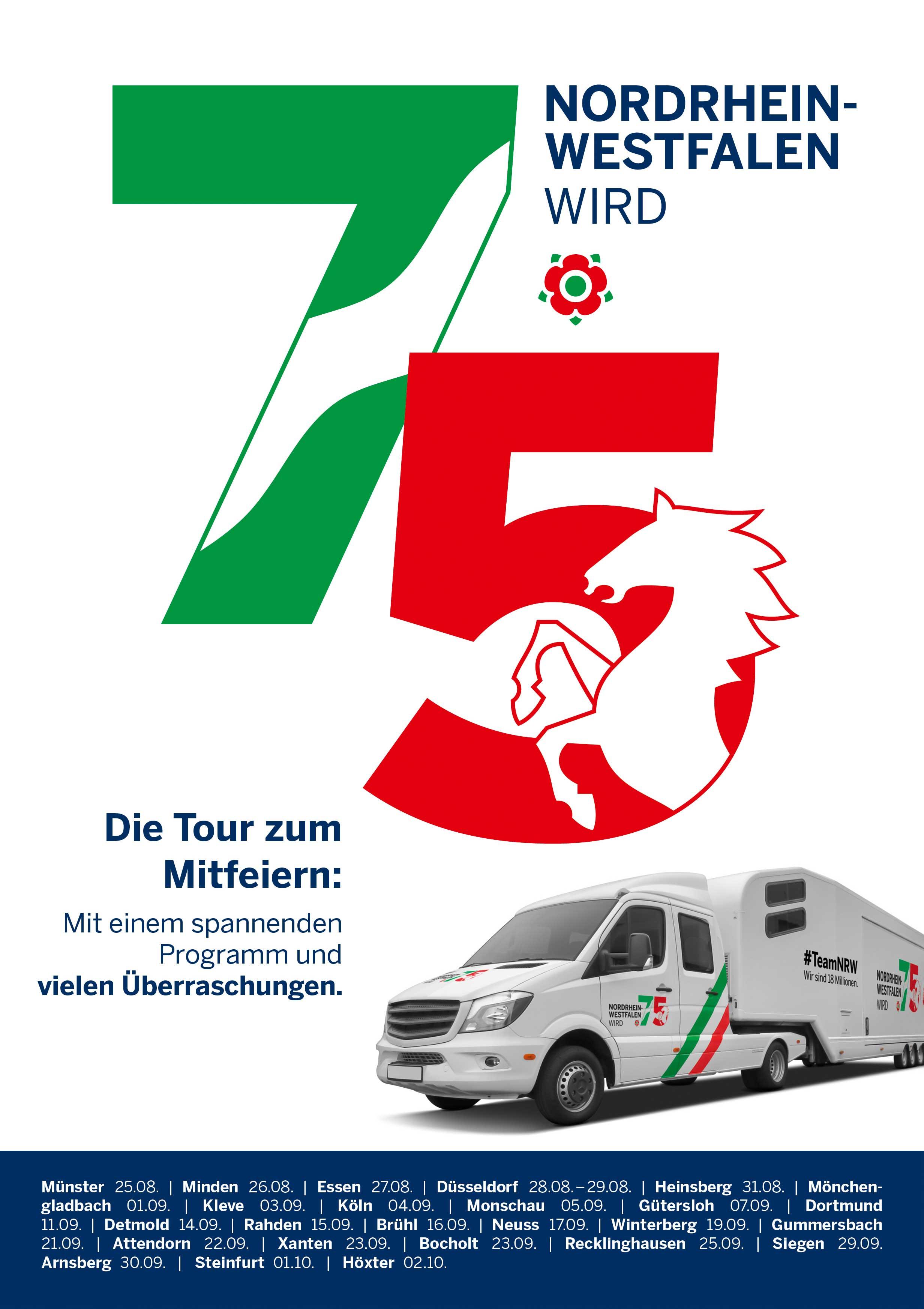 Poster der Truck-Tour