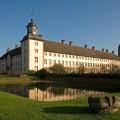 Das Foto zeigt die Außenansicht von Schloss Corvey