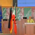 Ministerin Sylvia Löhrmann hält eine Rede