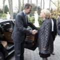 König Felipe VI. von Spanien hat Ministerpräsidentin Hannelore Kraft in Gütersloh besucht.