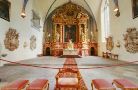 Innenaufnahme von Kloster Corvey