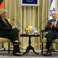 Ministerpräsidentin Kraft mit Shimon Peres im Rahmen ihrer Nahostreise am 5. März 2014.