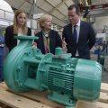 """Ministerpräsidentin Hannelore Kraft besucht im Rahmen ihrer """"Hidden Champions"""" Tour im Ruhrgebiet das Unternehmen WILO SE"""