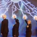 Wirtschaftsminister Garrelt Duin und Ministerpräsidentin Hannelore Kraft während einer Zeremonie in der Startup Factory in Kunshan