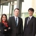 Gründerpreisträger Dr. Melanie Schwering, Dr. Tobias Block und Rainer Becker