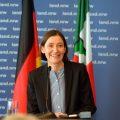 Prof. Dr. Susanne Gaensheimer während ihrer Ansprache