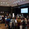 Staatssekretärin Andrea Milz auf der Veranstaltung Engagementstrategie für das Land Nordrhein-Westfalen in Rheine