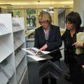 Eröffnung der Präsenzbibliothek der Landeszentrale für politische Bildung
