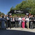 Der Ehrenkreis der Handball Weltmeisterschaft 2019 stehen im Halbreis zusammen.