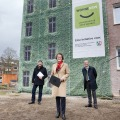 Ministerin Scharrenbach: Fassadenbegrünung macht die natürliche Stadtgestaltung möglich
