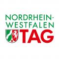 Das Motiv zeigt das Logo zum NRW-Tag.