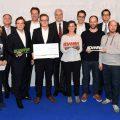 Gruppenbild der Gewinner des DWNRW Award 2015