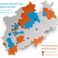 Kein Kind zurücklassen! - Teilnehmende Kommunen der Modellphase bis 2016 und Roll-Out ab 2017