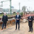 Robustes Netz für Nordrhein-Westfalen: Auftakt in Köln-Deutz, 16.04.2021