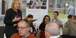 Ministerpräsidentin Kraft besucht Integrationsküche in Nordkirchen