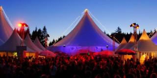 Bild zeigt das Siegener Kulturzeltfestival KulturPur