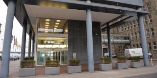 Der Eingang des Ministeriums