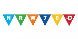 Logo 70 Jahre Düsseldorf