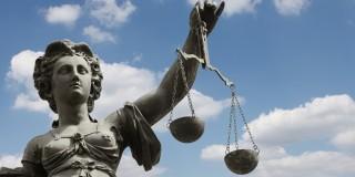 Bild Justitia mit Waage