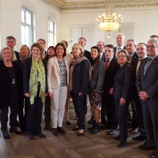 Gemeinsame Kabinettsitzung mit Rheinland-Pfalz