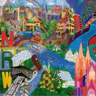 NRW Kindermalwettbewerb 2010/2011 - Collage 1