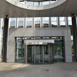 Der Eingang des Inneministeriums