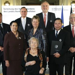Verleihung des Verdienstordens des Landes Nordrhein-Westfalen, 07.11.2013