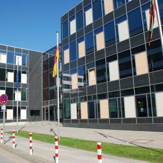 Vorderseite des Gebäudes des Ministerium für Schule und Weiterbildung