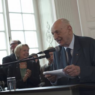 Władysław Bartoszewski bei Richeza-Preisverleihung 2012