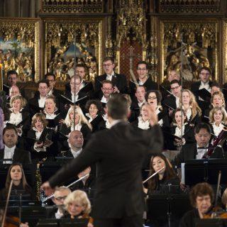 Orchester und Chor des Adventskonzert
