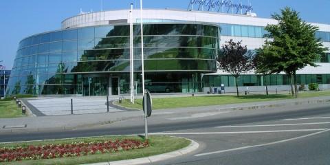 Außenansicht des Ford-Entwicklungszentrums in Aachen