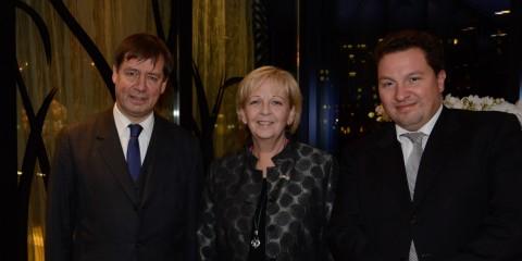 Konsularkorps empfängt Ministerpräsidentin Hannelore Kraft