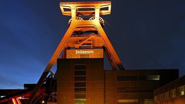 Die UNESCO-Welterbestätte Zollverein in Essen ist auf diesem Foto abgebildet.