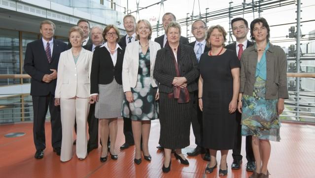 Gruppenbild des Kabinett