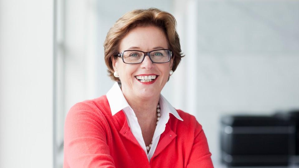 Das Foto zeigt Ute Schäfer, Ministerin für Familie, Kultur, Kinder, Jugend und Sport