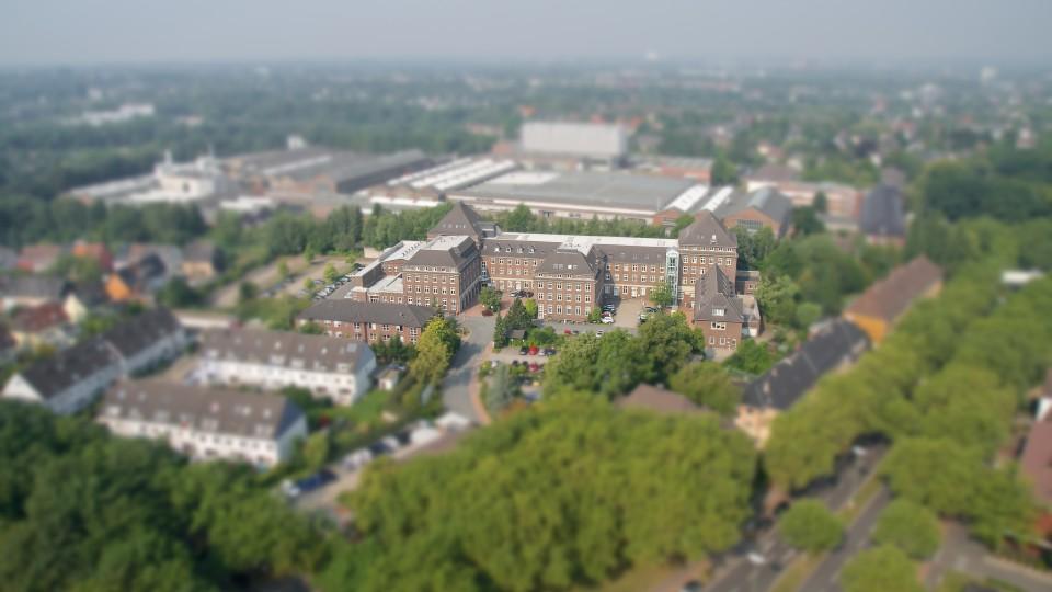 Luftaufnahme der G DATA Software AG