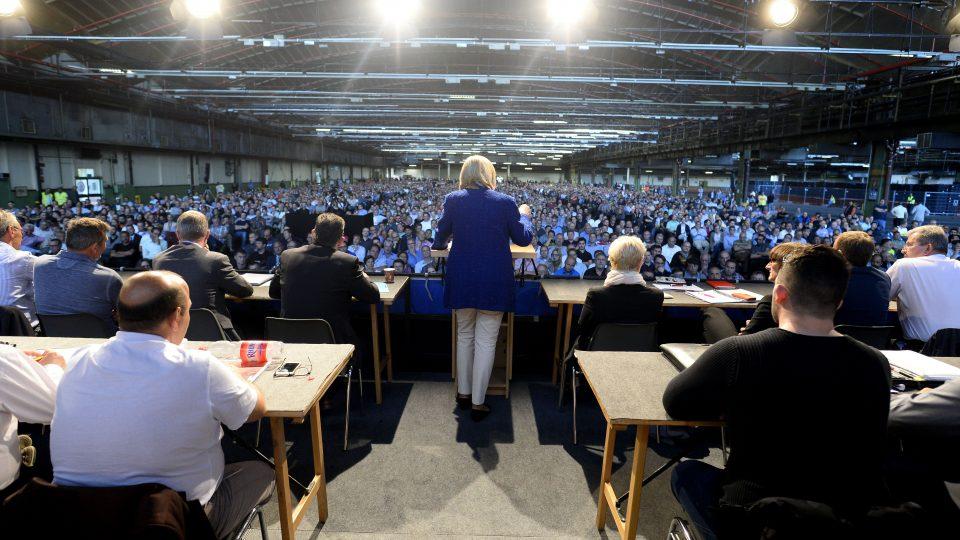Ford Betriebsversammlung