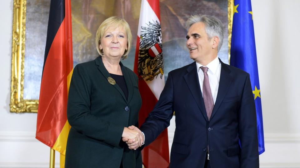 Österreich-Besuch von Ministerpräsidentin Hannelore Kraft