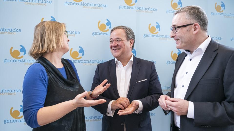 Ministerprasident Besucht Generationen Projekt Das Landesportal Wir In Nrw