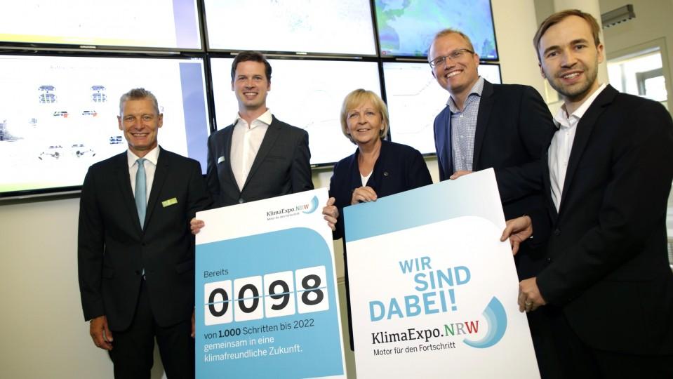 Ministerpräsidentin Hannelore Kraft besucht die NEXT-Kraftwerke in Köln