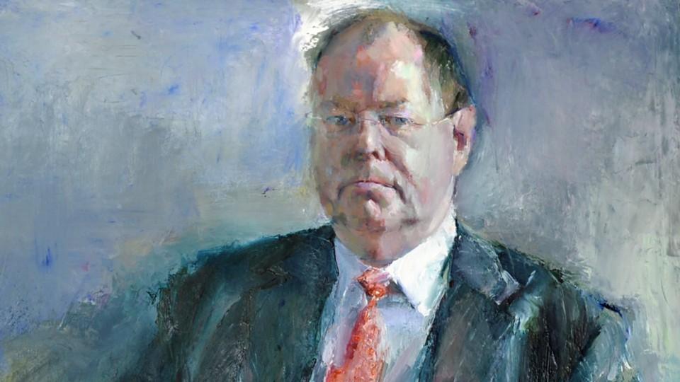 Gemälde von Peer Steinbrück