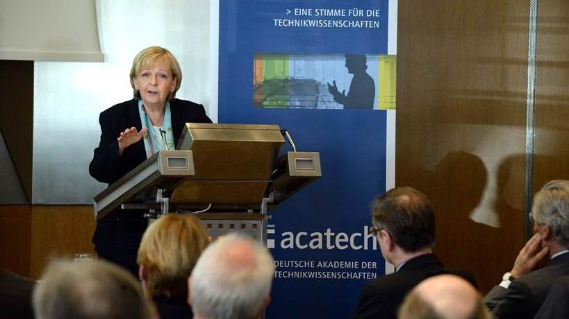 Ministerpräsidentin Hannelore Kraft zu Gast beim Akademietag von acatech