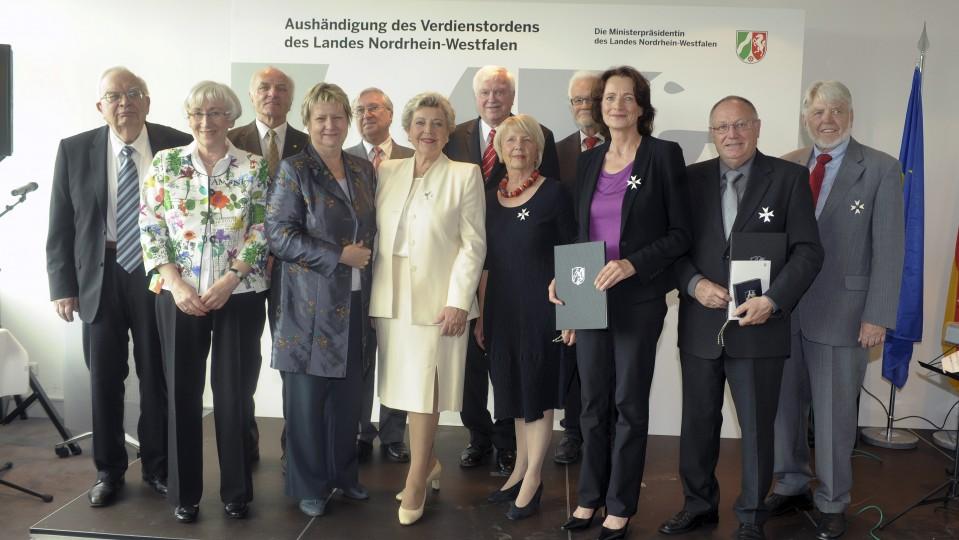Verleihung des Verdienstordens des Landes Nordrhein-Westfalen, 23.06.2014