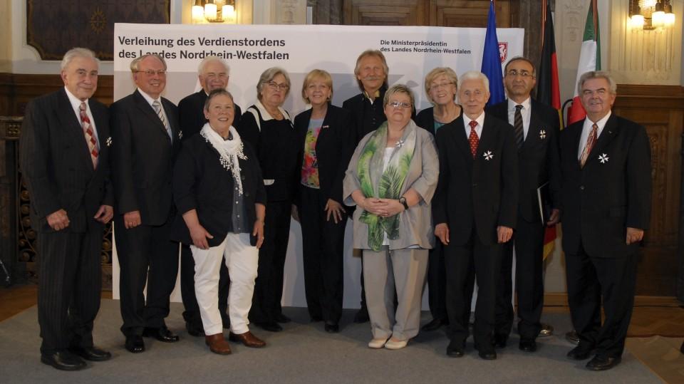 Verleihung Verdienstorden des Landes NRW, 19.04.2013
