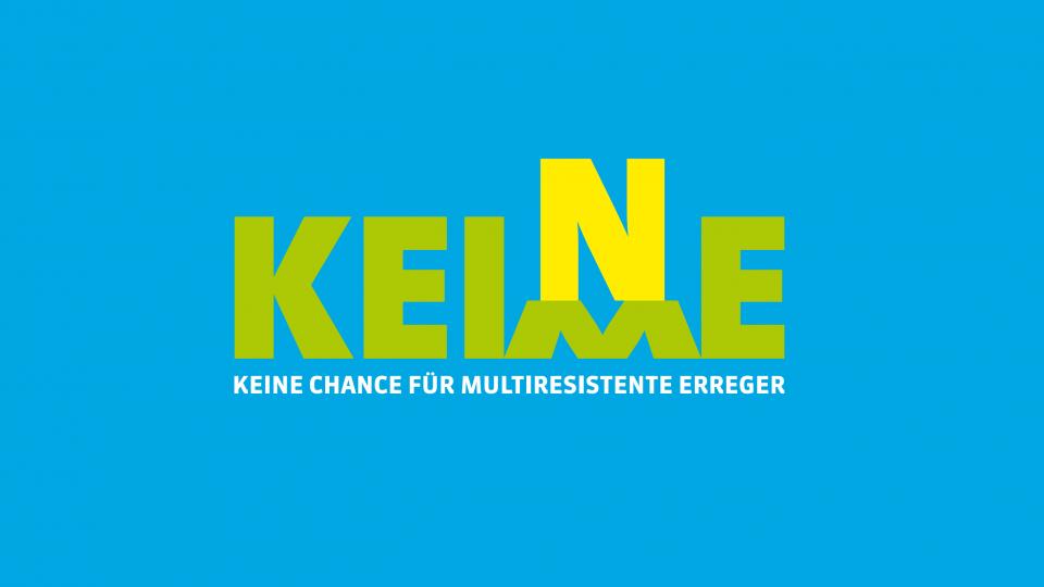 Bild Logo Keine Keime (blau)