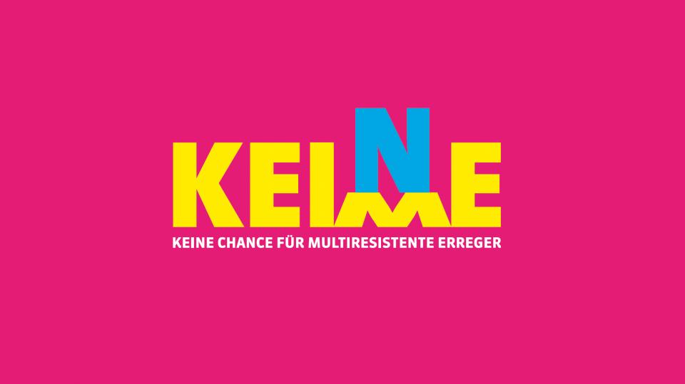 Bild Logo Keine Keime (pink)