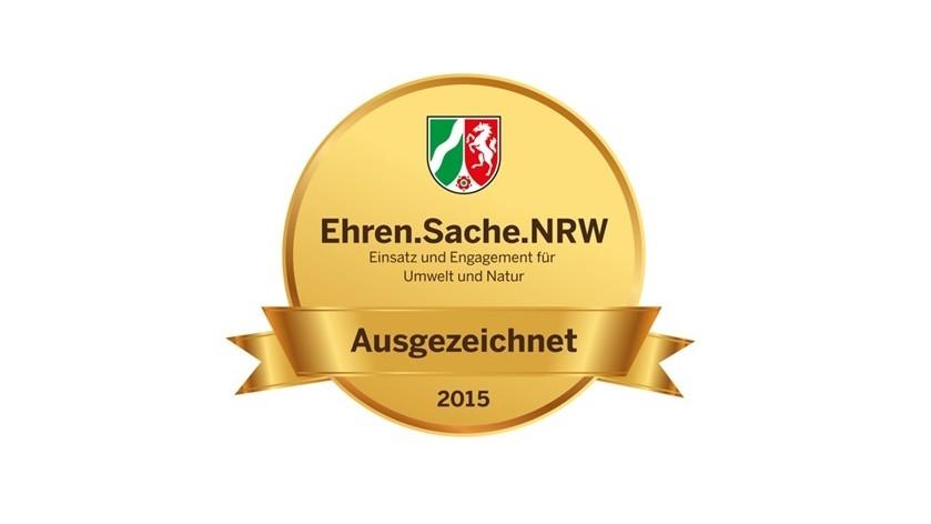 Logo Ehren.Sache.NRw.2015 Umwelt und Natur