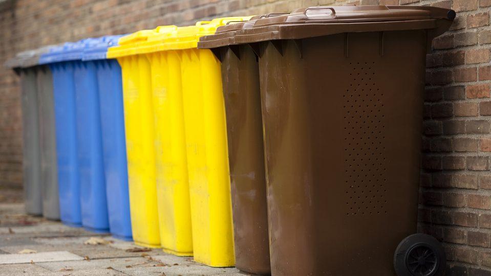 Bild Mülltonnen