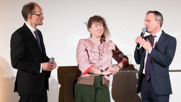 Staatssekretärin Andrea Milz zu Besuch beim DOSB.