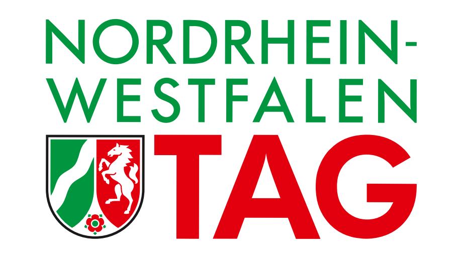 Das Motiv Zeigt Logo Zum NRW Tag
